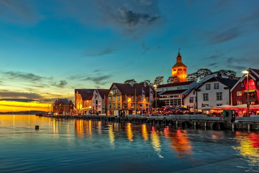 Stavanger city view