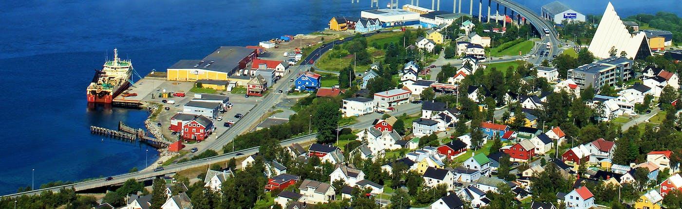 Tromsø viewed from above