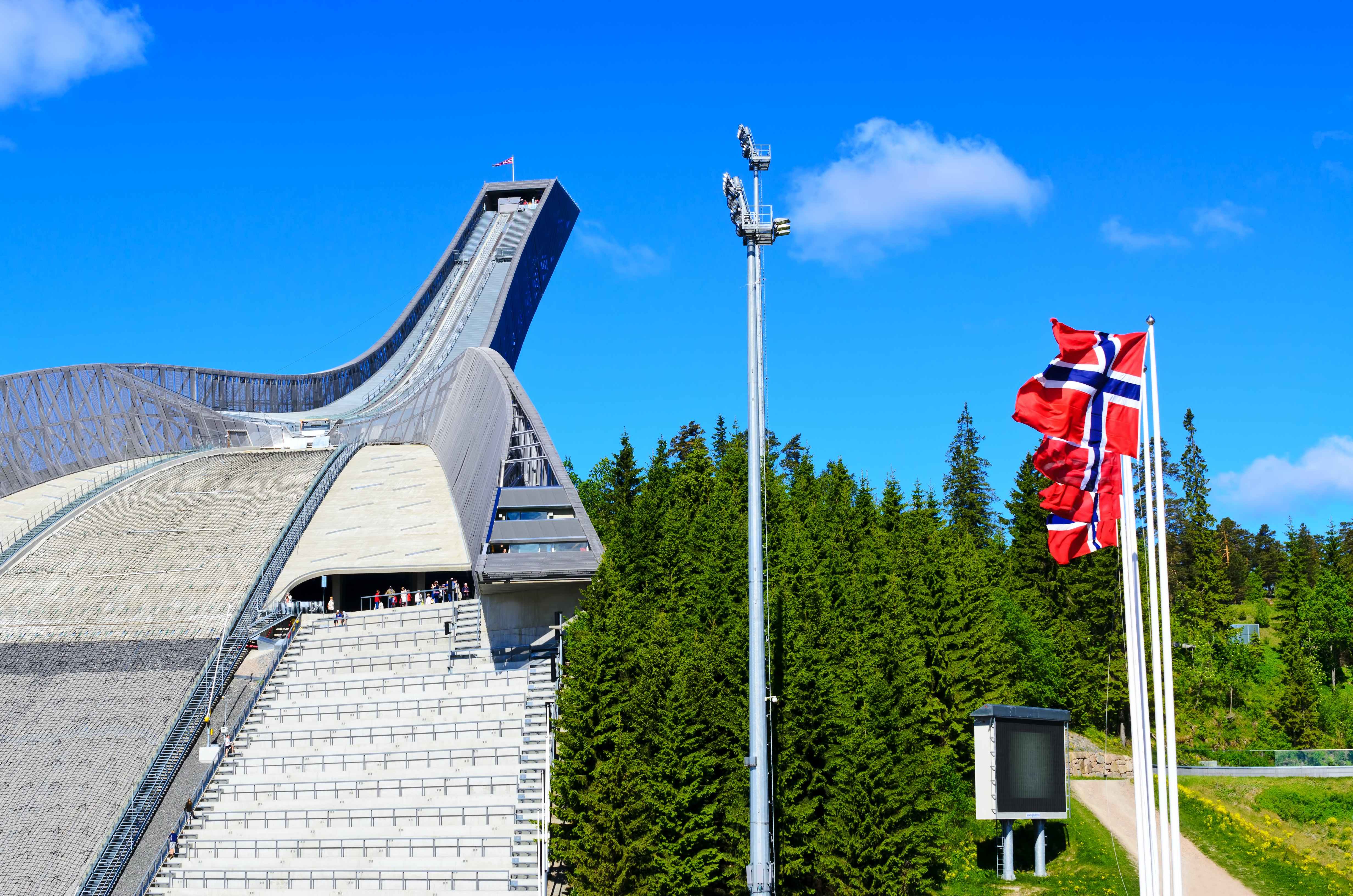 oslo the capital city of norway Oslo airport wants to set a new standard in sustainable aviation last year, it  launched a new green terminal that was certificated as the the.