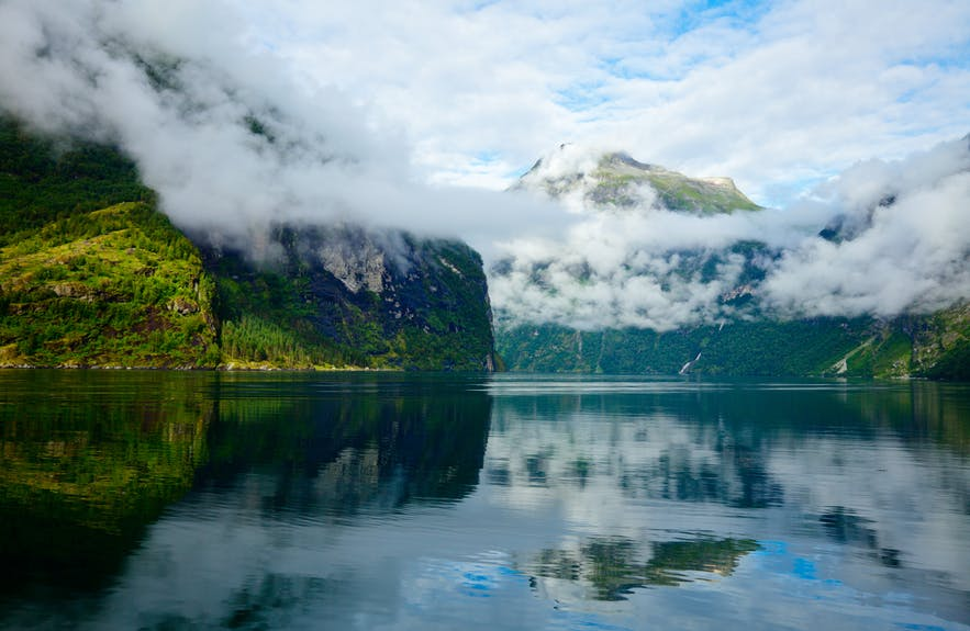 The picturesque Geirangerfjord