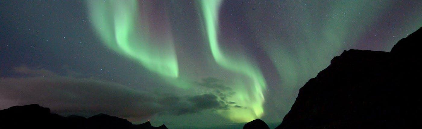 Haukland beach, Lofoten Islands - by Carina Hansen.