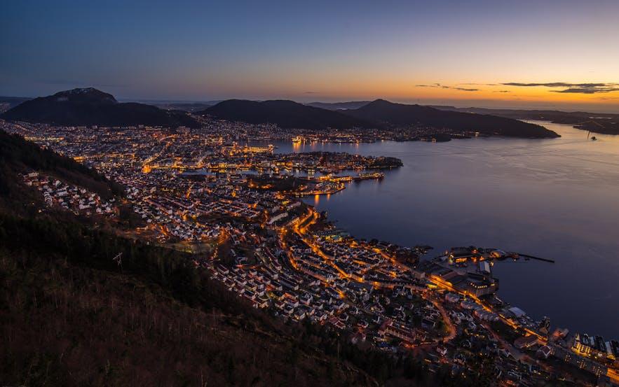 Bergen from Stolzen