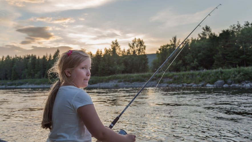 Fishing is fun for the kids, too