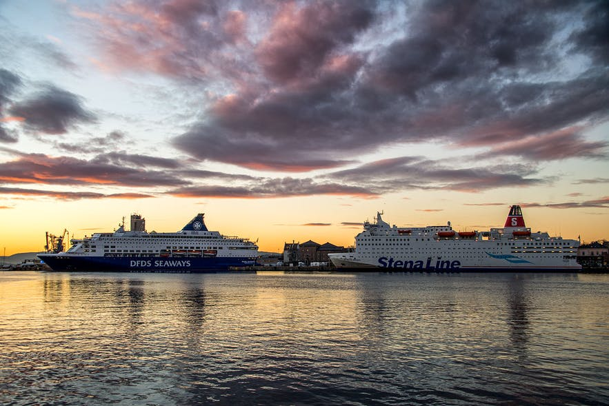 norway-oslo-harbour-dfds-stenaline