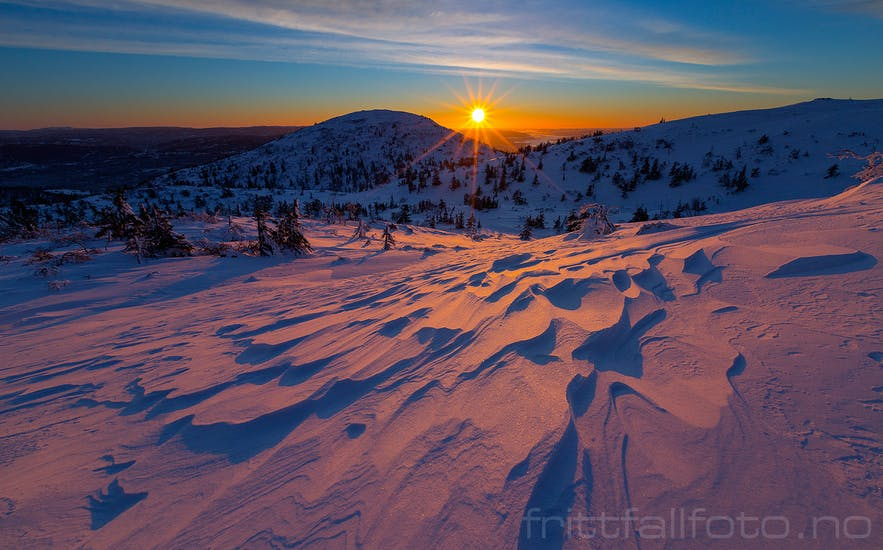 Lifjell - Mountains on the quiet side