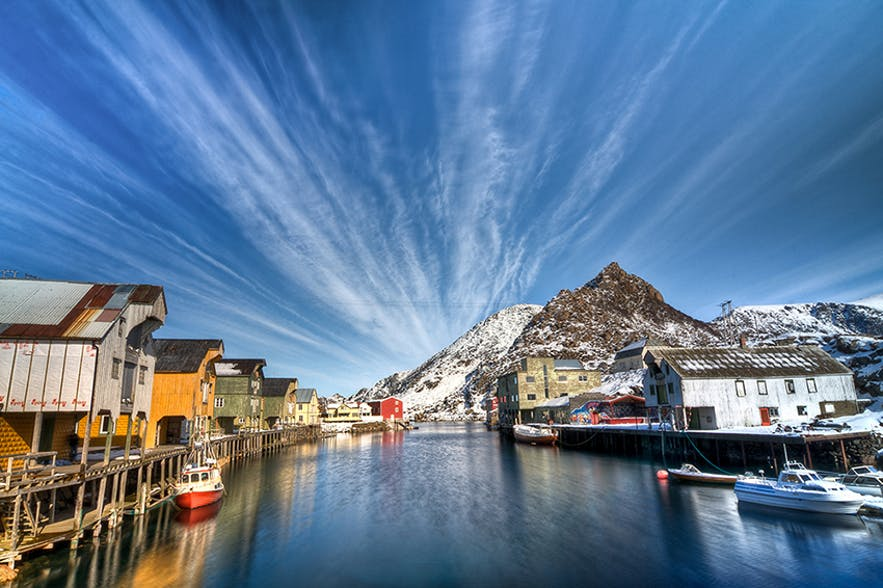 Nyksund Wharf - Winter