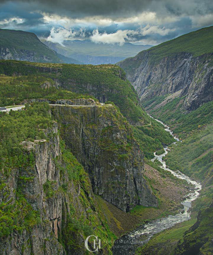 Voringsfossen Waterfall