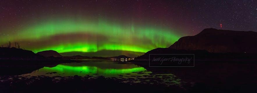 The Reality of Seeing the Aurora Borealis