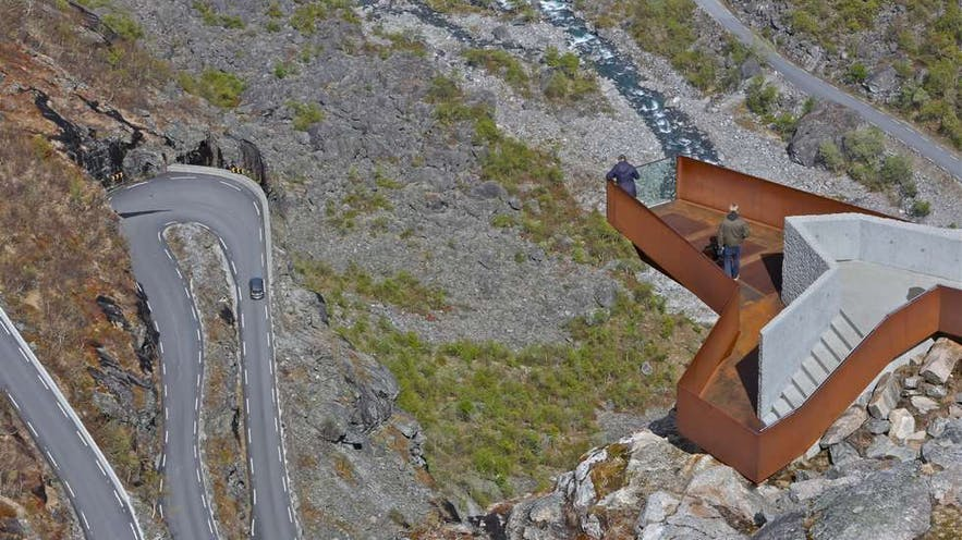 Trollstigen. Photo: Odd Roar Lange