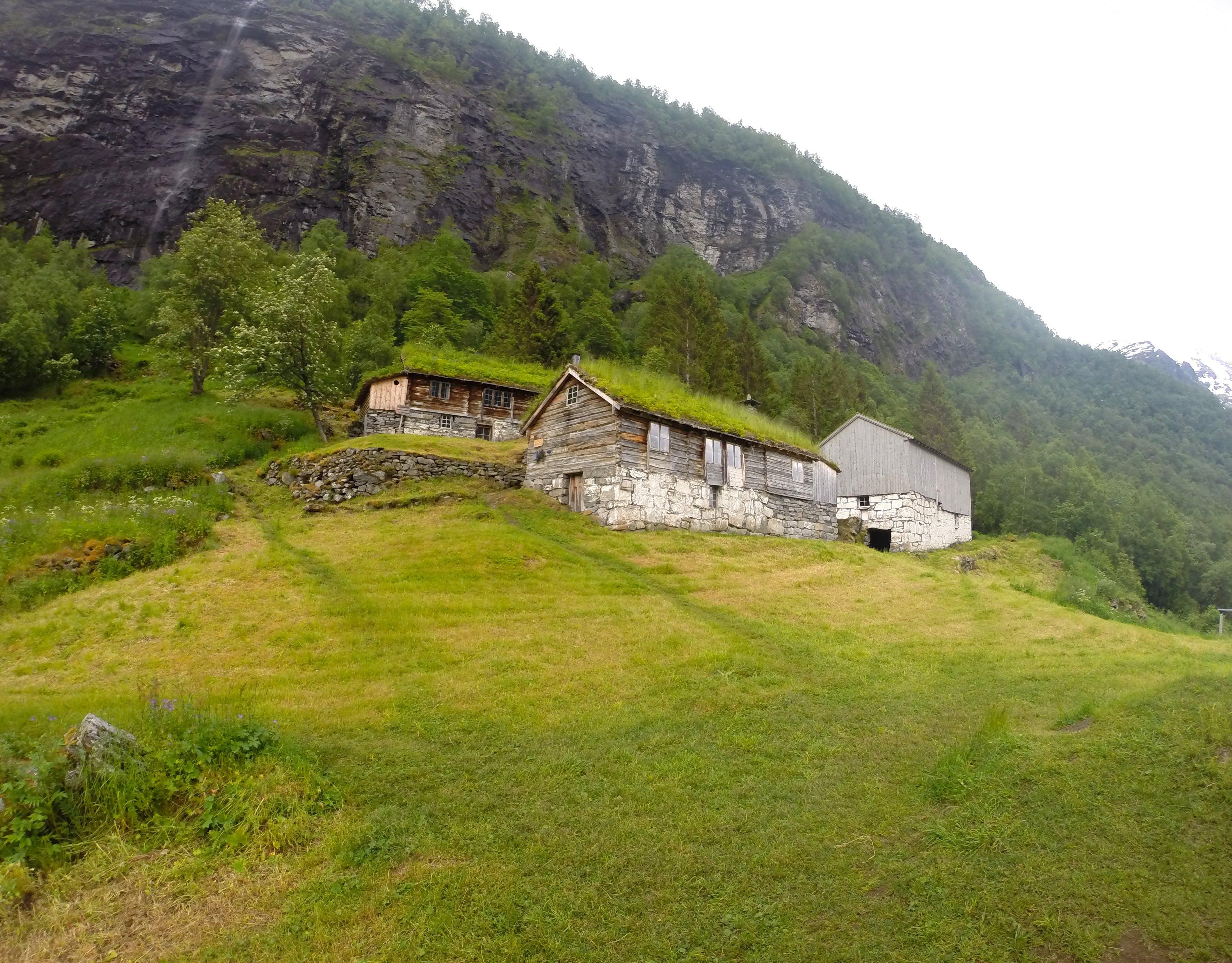 Fjord hiking, steep and beautiful!