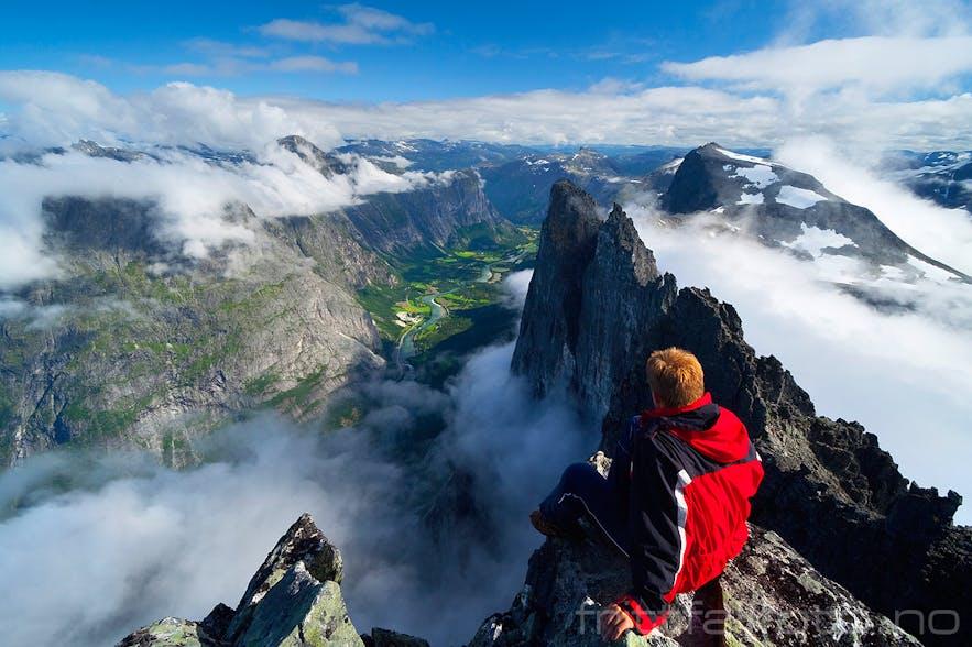 The Troll Wall in Romsdalen