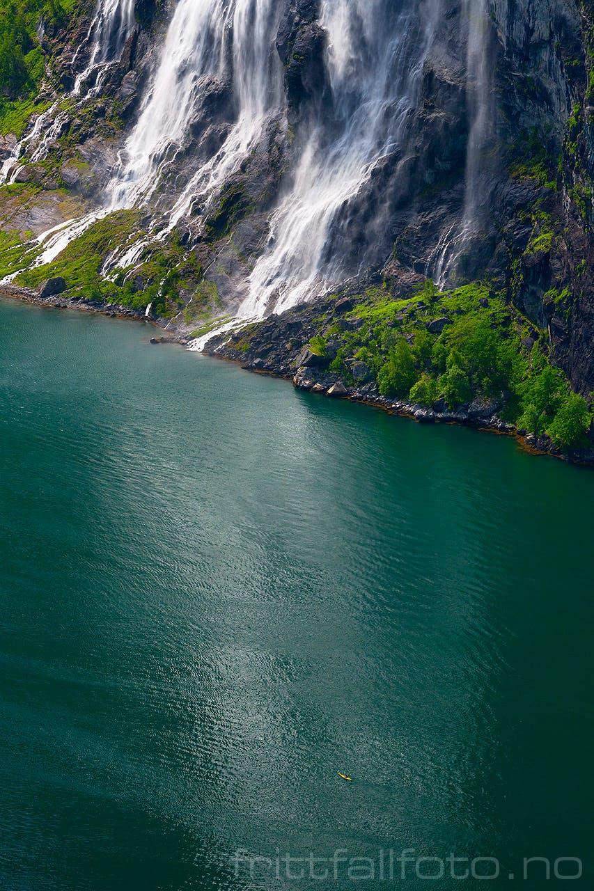 The Geiranger fjord