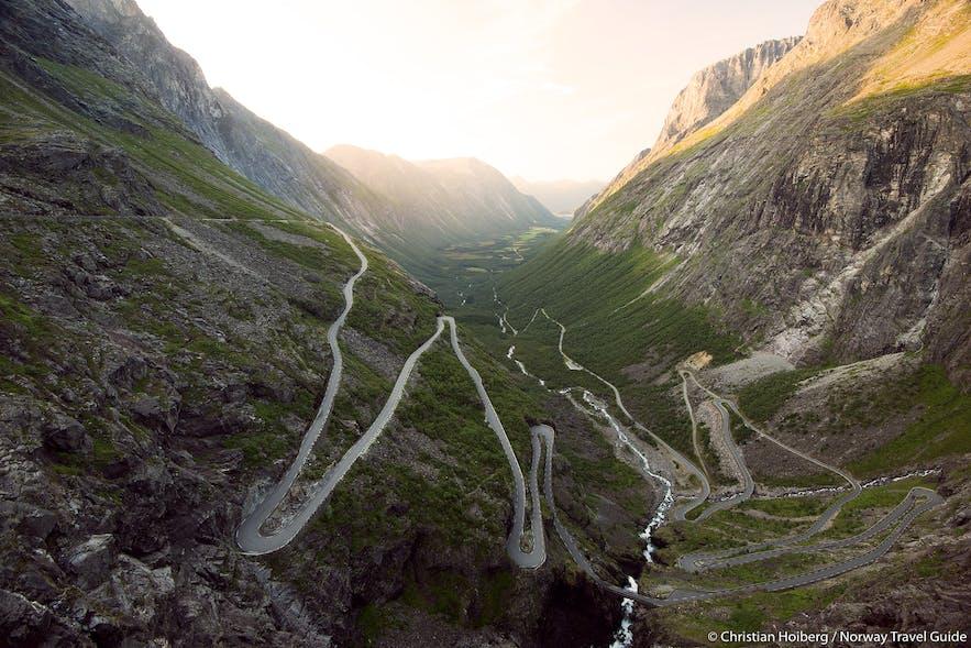 Most stunning roads in norway norway travel guide trollstigen road norway publicscrutiny Images