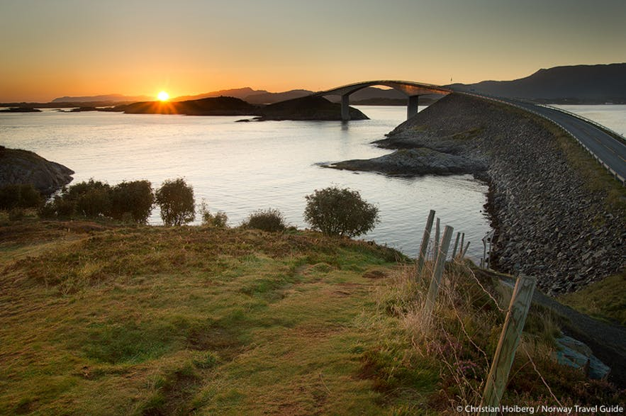 atlanterhavsveien sunrise