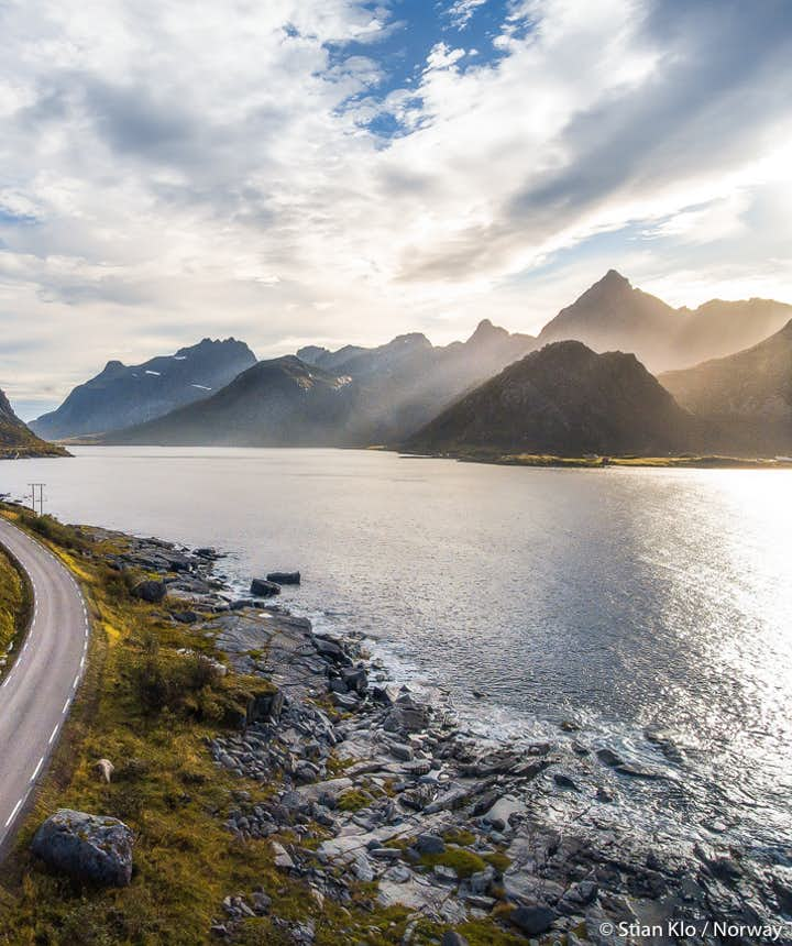 lofoten national tourist road