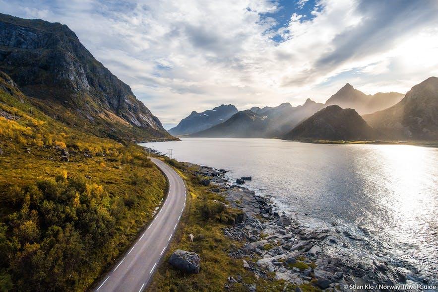 lofoten national tourist road