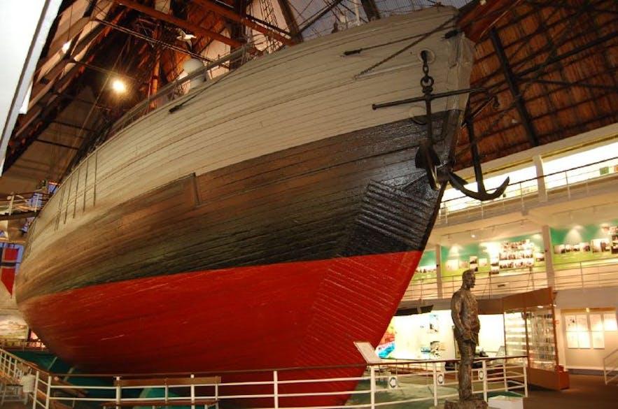 Fram Polar Ship Museum by Maciej Żytniewski - Flickr