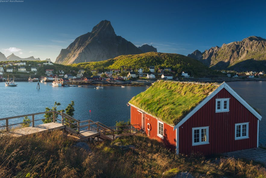 lofoten norway summer