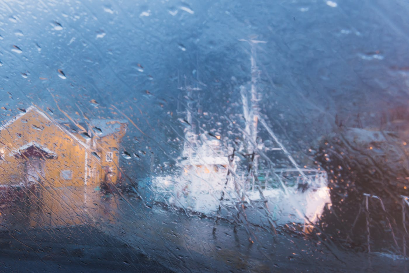 rain lofoten
