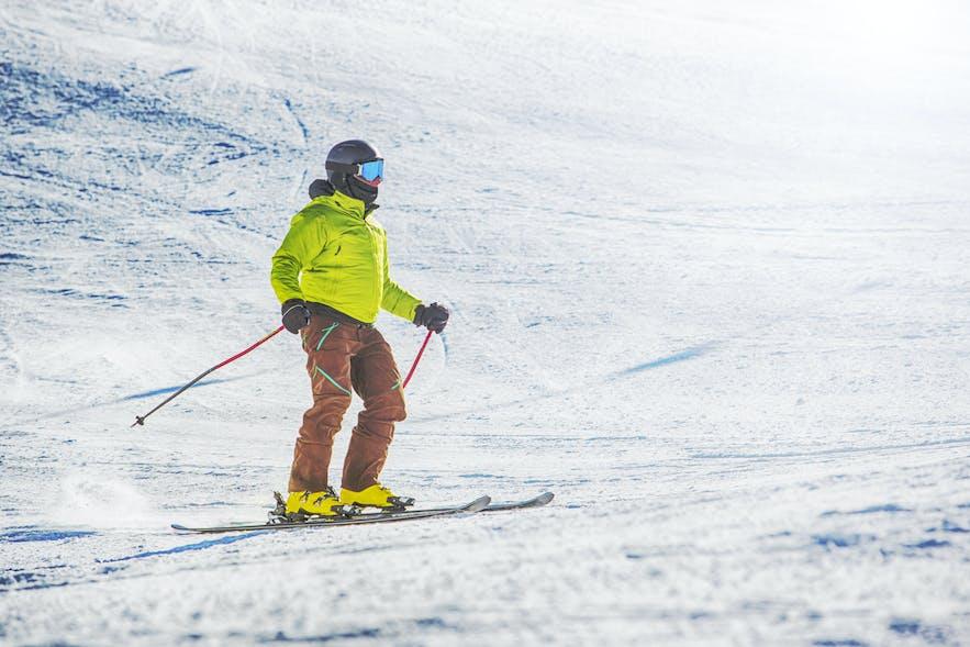 downhill skiing trondheim