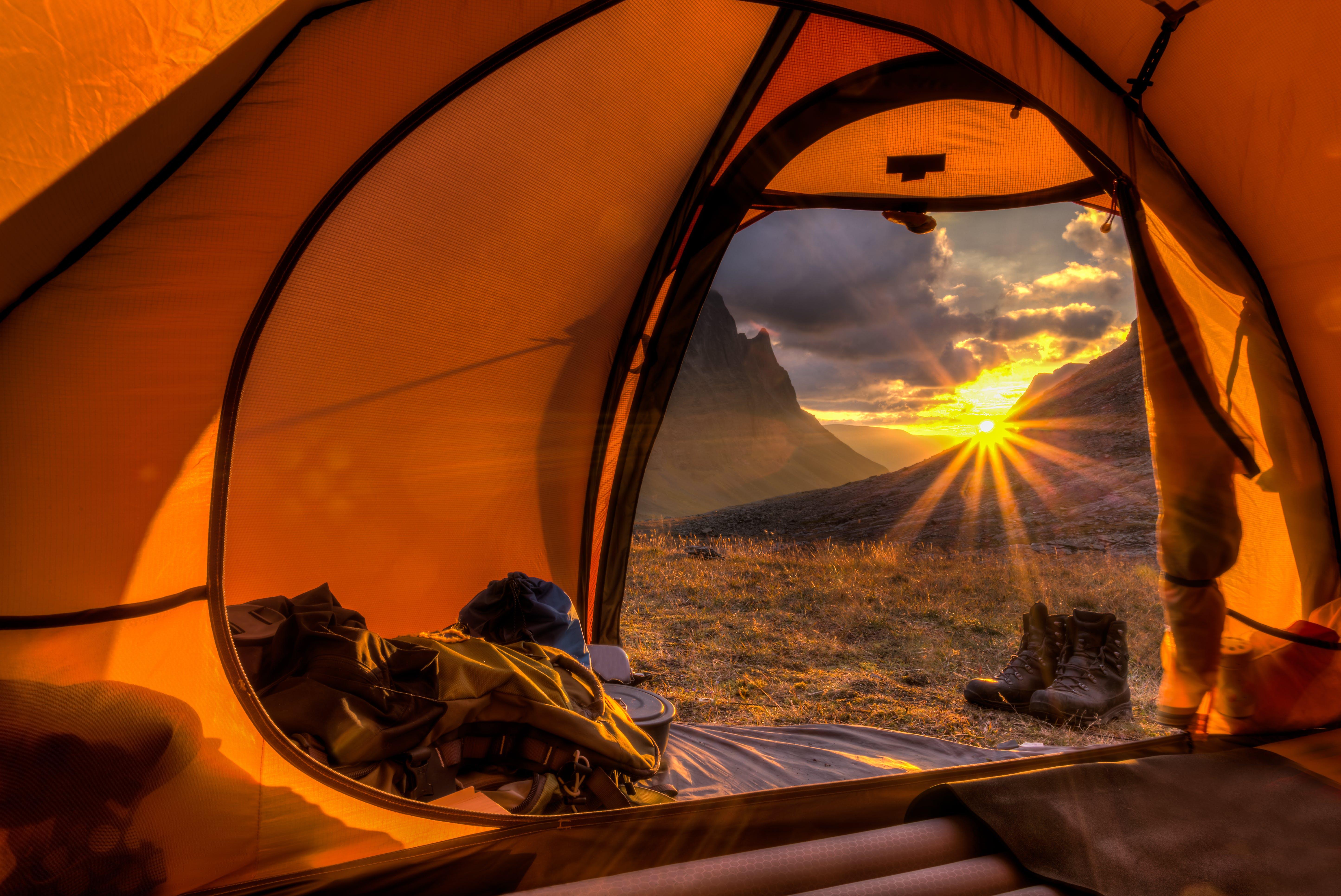 tenting in norway