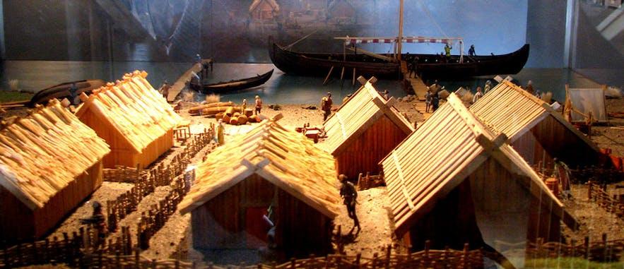 Kaupang Viking Town in Larvik