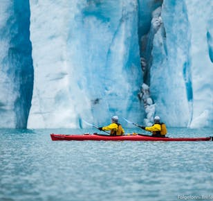 Glacier Kayak Tour on Folgefonna Glacier
