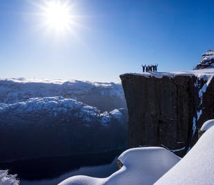 Preikestolen and Lysefjord Winter-Spring Off-Season Hike