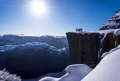 Preikestolen and Lysefjord Winter-Spring Off-Season Hike