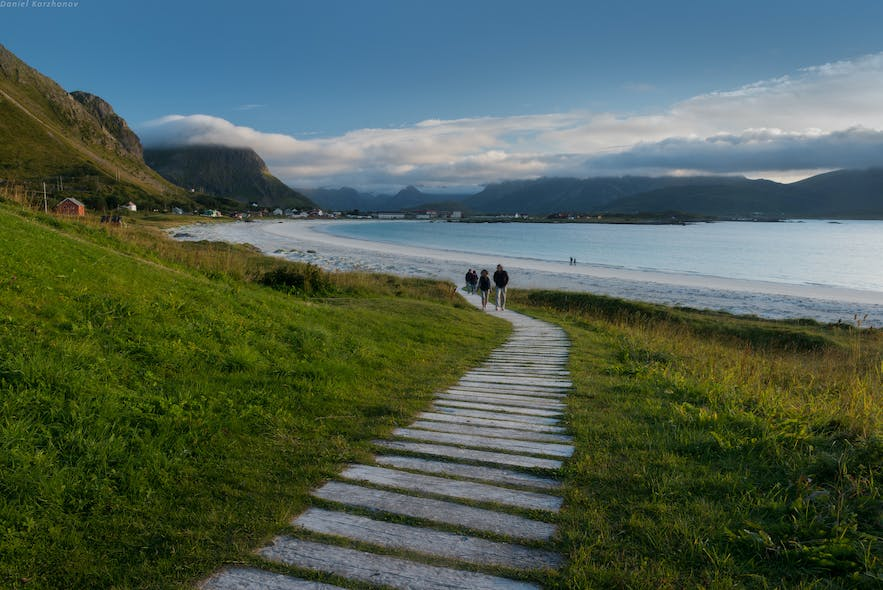 beaches in northern norway