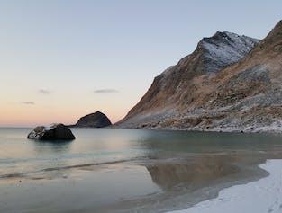 Discover Lofoten in Winter width=