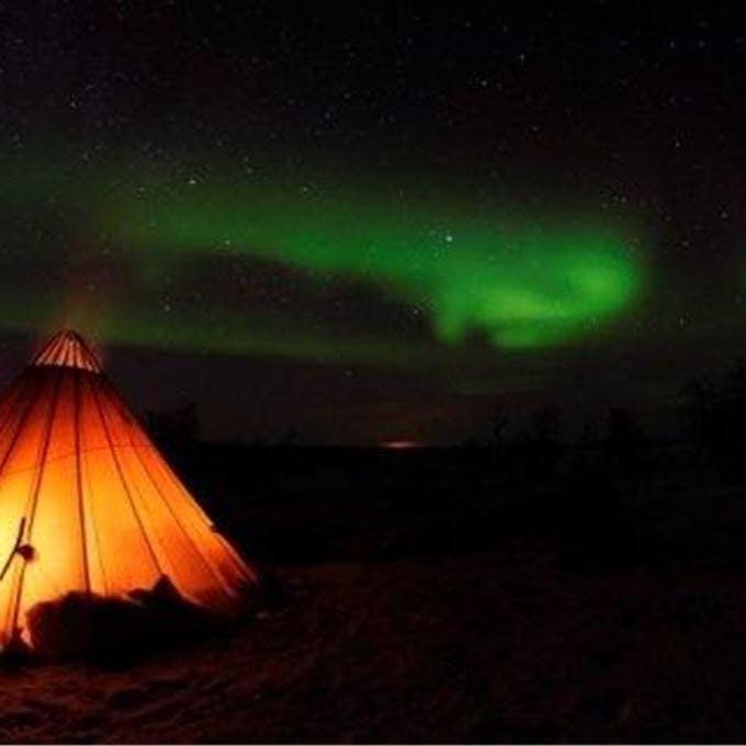 Reindeer Sledding & Northern Lights   Overnight Tour
