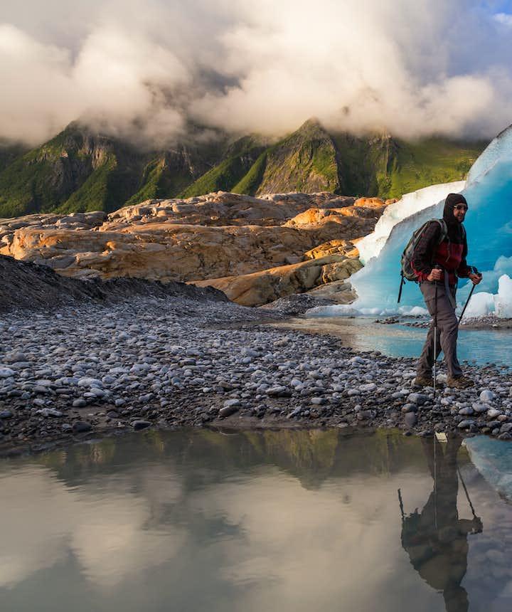Svartisen glacier bodø