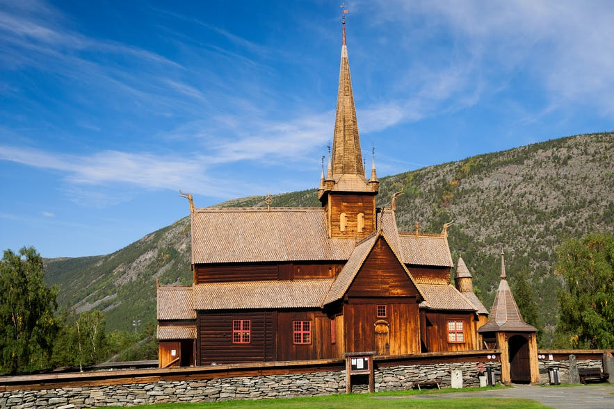 Lom Stave Church Norway