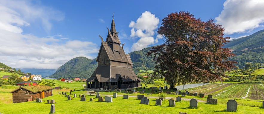 hopperstad stave church norway