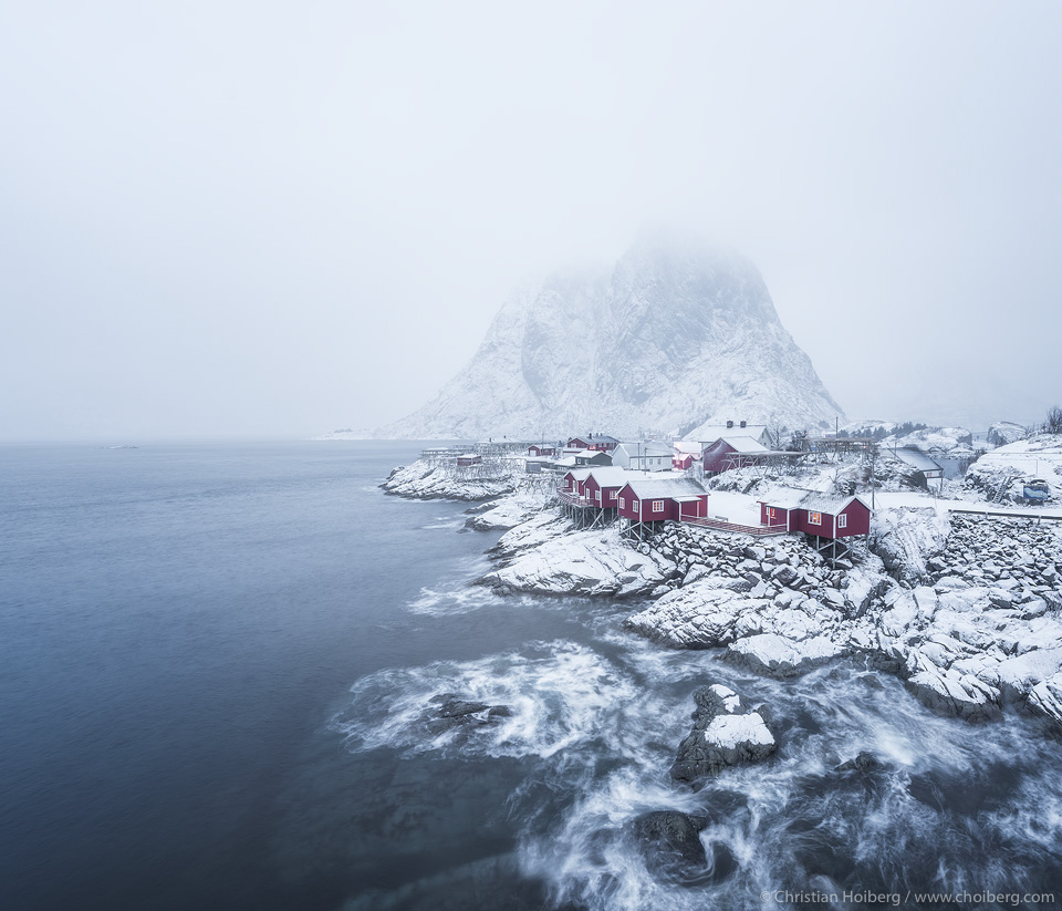The Traditional Norwegian Rorbuer Cabins