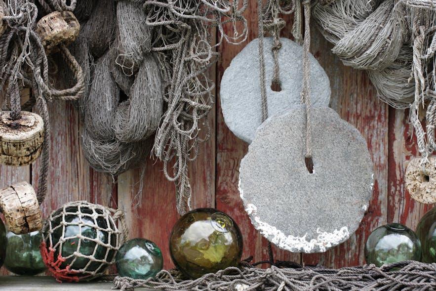 norwegian rorbu fishing nets
