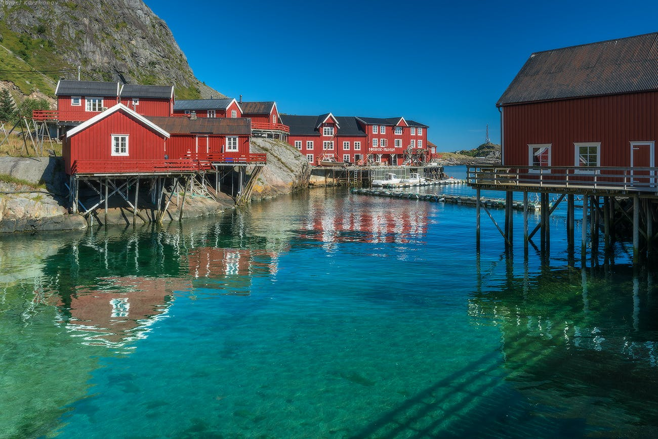 The Traditional Norwegian Rorbuer Cabins Norway Travel Guide