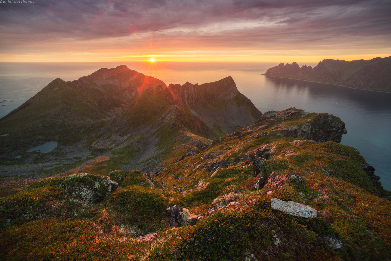 The Midnight Sun in Norway