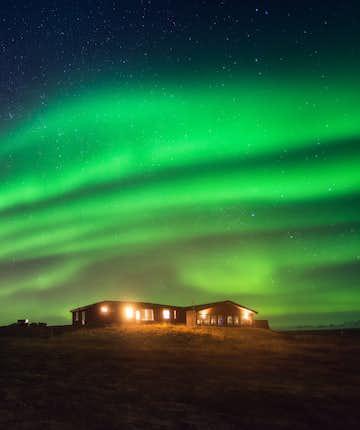 polar night norway aurora borealis