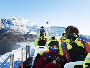 Basic Winter FjordSafari of Aurlandsfjord and Nærøyfjord