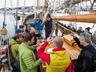 3 Day Whale Watching and Northern Lights Cruise on Schooner