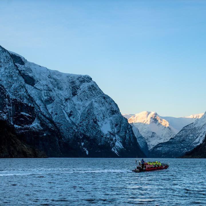 Winter FjordSafari of Aurlandsfjord and Nærøyfjord
