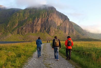 Hiking in Lofoten
