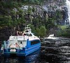 Fjord Cruise through Lysefjord