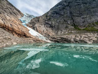 Olden Briksdal Glacier