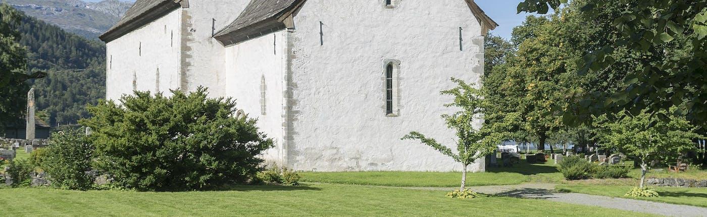 Kinsarvik Church in Hardangervidda