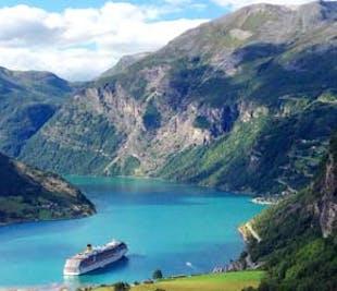 Panorama Bus Geiranger   Geirangerfjord