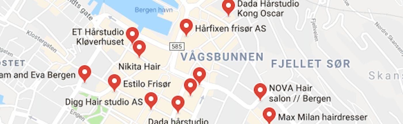 Bergen Hair Salons
