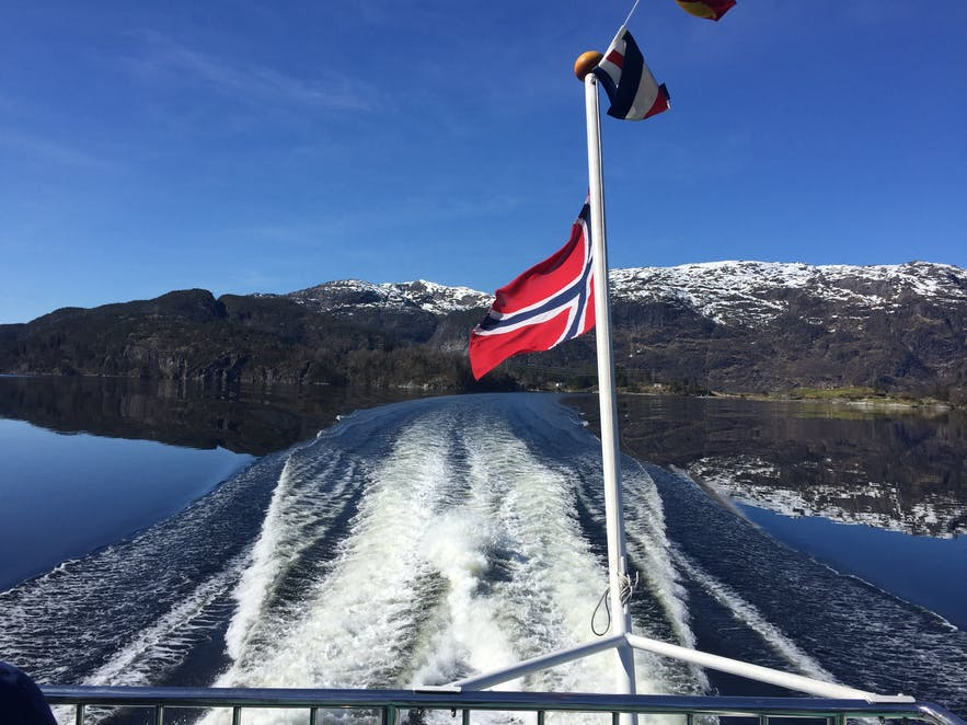Mostraumen Boat Tour